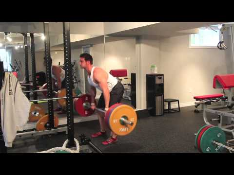 Deadlift Workout: Lower Body Strength Training Workout (8 Sets of 3 + Test Week) Image 1