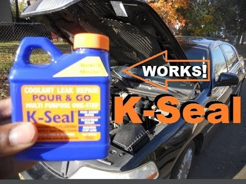 How To Fix A Coolant Leak With Bluedevil Pour N Go Head