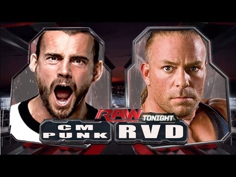 WWE RAW CM Punk vs RVD Full Match HD!