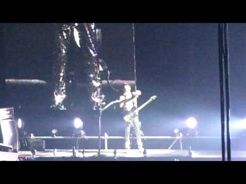 Muse Matt Bellamy say live in Moscow 22-05-11