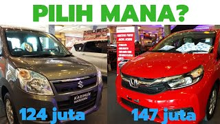 Brio satya 2019 manual vs karimun wagor r gl manual.pilih mana?