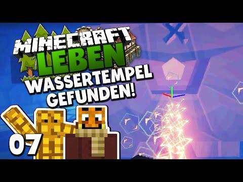 UNTERWASSERTEMPEL GEFUNDEN! KAMPF GEGEN WÄCHTER! ✪ Minecraft LEBEN #07 | Paluten