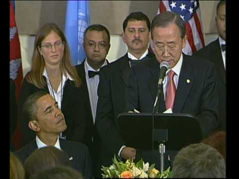 MaximsNewsNetwork: BARACK OBAMA & HEADS OF STATE @ UNITED NATIONS: BAN KI-MOON