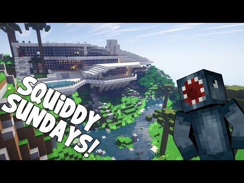 Minecraft - Squiddy Sunday's - Death By APPLE!