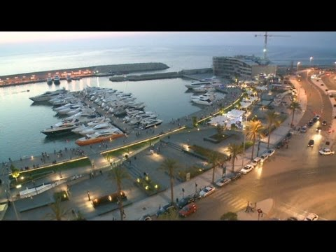 Beirut debuts glitzy seaside promenade