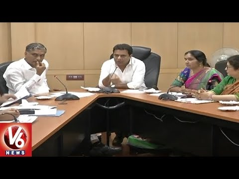Telangana Govt To Establish B-Hub For Biotech At Cost Of Rs 60 Cr: Minister KTR | V6 News