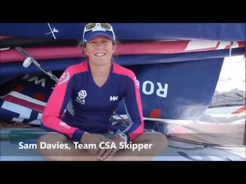 Interviews - Team SCA Stands Ready to Win by Leighton - 2014-2015 Volvo Ocean Race - Alicante, Spain