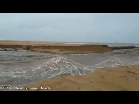 Durban Isipingo Beach Floods after heavy rains 08 May 2016