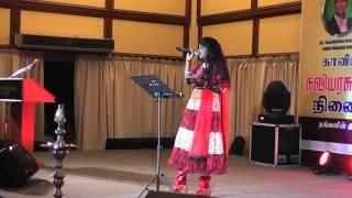 Roshini - unnai kaanatha kannum kannalla Live