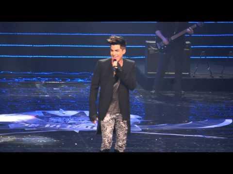 2013.4.18 Adam Lambert Chinese Music Awards - Naked Love