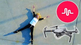 MAKING A MUSICAL.LY ON A DRONE! - (Day 18)