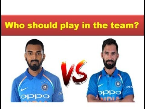 KL Rahul vs Dinesh Karthik batting comparison 2018 || India vs England 2nd ODI highlights