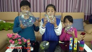 Chơi đồ chơi Magic Goo - Thổi bong bóng kẹo cao su Bubble Balloon