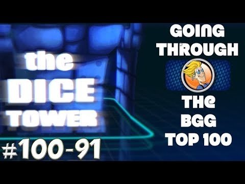 Going Through the BGG Top Rated (100-91)