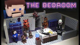 Five Nights at Freddy's Bedroom Scene Custom DIY Fnaf Mcfarlane Toys Set Wave 5 must have!