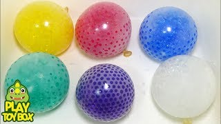 Orbeez Color Balloons POP Water Learn Colors Fidget crystal Beads ball