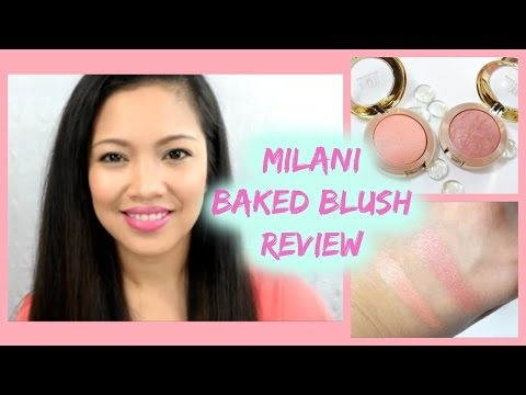 Milani Baked blush luminoso Review