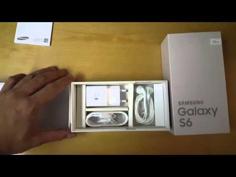 What's in the Samsung Galaxy S6 box - quick overview Part 1 of 2