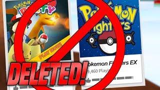 ALL ROBLOX POKEMON GAMES WERE DELETED... (Project Pokemon, Pokemon Brick Bronze)