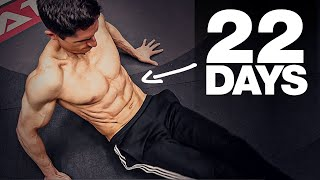"""Get a """"6 Pack"""" in 22 Days! (HOME AB WORKOUT)"""