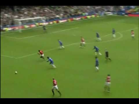 Chelsea vs Man u 3-0 - chelsea clinch EPL 2005-2006 - joe cole magic