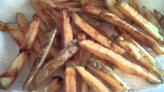 French Fries Deep Fried in Coconut Oil!
