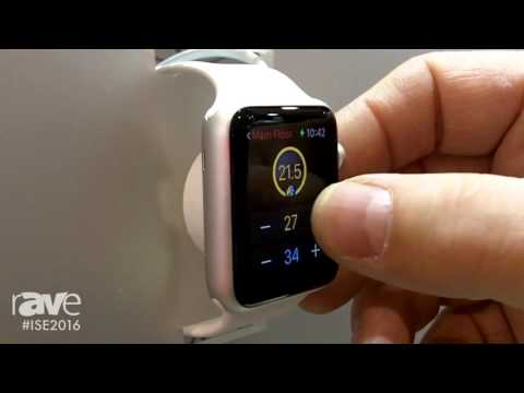 ISE 2016: Control4 Showcases New Apple Watch Interface for Residential Environment Control