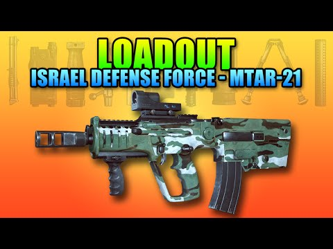 Loadout Israel Defense Force MTAR-21 | Battlefield 4 Carbine Gameplay