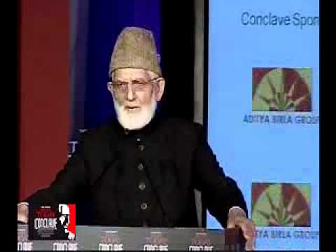 Syed Ali Shah Geelani At India Today Enclave - Part 1