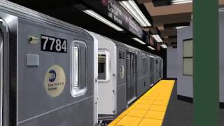 Nyct Openbve Exclusive look at the R188 7 test train arriving at times square