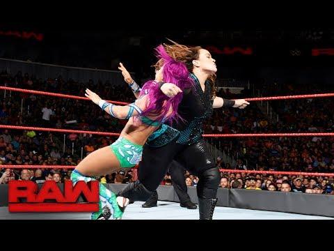 Sasha Banks vs. Nia Jax: Raw, June 19, 2017