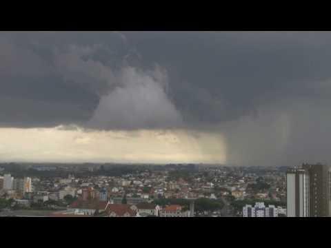 Curitiba sky Video