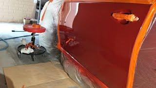 Spray Painting a Car at Home