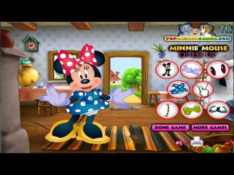 Mickey Mouse Games -- Minnie Mouse Dress Up| Free Girls Games / Kids Games | HD