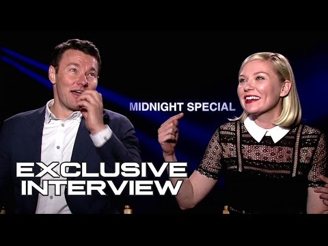 Joel Edgerton & Kirsten Dunst Exclusive Interview for MIDNIGHT SPECIAL