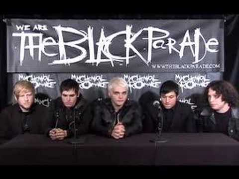 My Chemical Romance - Black Parade Interview Part 1