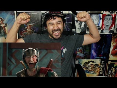 THOR: RAGNAROK Teaser TRAILER REACTION & REVIEW!!!