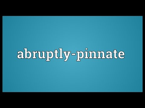 Header of Abruptly-Pinnate