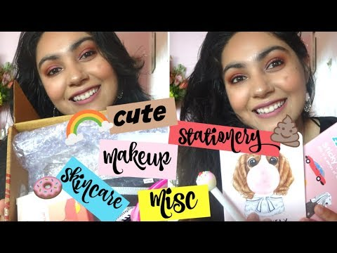 Collective Haul 2018 | Affordable Makeup Skin Care, Cute Stationery, Misc Items | Sneha Arora