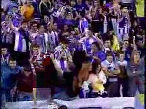 Valladolid 1-1 Real Madrid. Gol de Pedro López (Canal Plus)