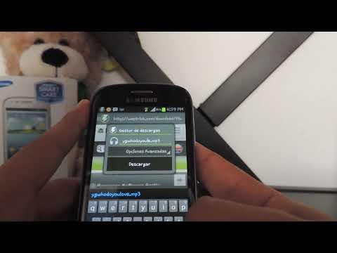Como descargar Musica y Videos en Android | Gestor de Descargas