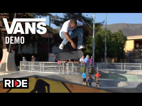 Dan Lu, Gilbert Crocket, Kyle Waker & More at  Vans Propeller Demo in San Luis Obispo