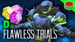FIRST FLAWLESS TRIALS OF THE NINE!  | Destiny 2 - The Dream Team