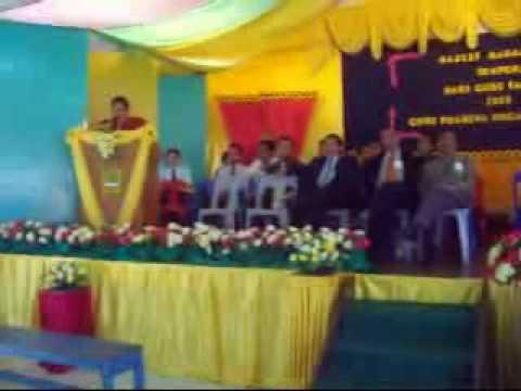 Cikgu Bohri Bin Saili Menang Anugerah Guru Inspirasi Pilihan Pelajar 2009 SMK Pusa Sesi Pagi