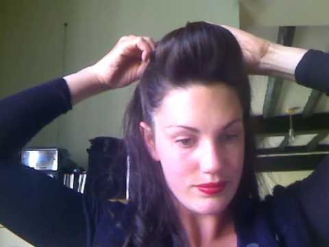pin up hairstyles for women