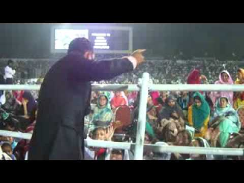 Nadeem Abbas At Iqbal Stadium Faisalabad - Tum Ho Pakistan video