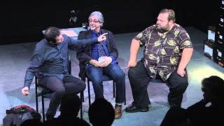 Talkback with Mike Daisey and Mark Thomas