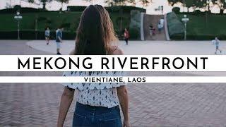 AMAZING FIRST DAY IN VIENTIANE   Laos Visa Run #2   Digital nomad in Laos