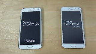Samsung Galaxy S5 vs. Samsung Galaxy S5 Clone I9600 - Which Is Faster? (4K)