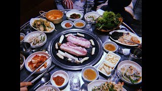 VLOG IN KOREA    University Life     Korean BBQ Party